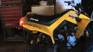 1. 2008 Can-am DS 250 Four Wheeler