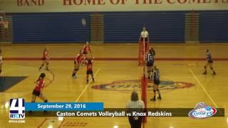 Caston Volleyball vs Knox Redskins
