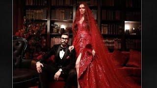 Deepika Padukone Ranveer Singh redefine glamour at Mumbai wedding reception