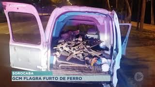 Cinco pessoas são detidas tentando furtar 400kg de ferro em Sorocaba