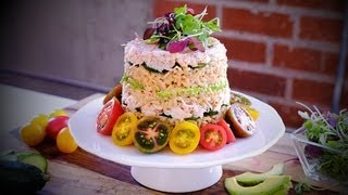 Easy-to-Make Sushi Cake