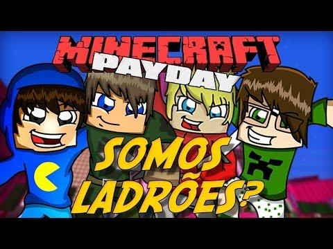 Minecraft: SOMOS LADRÕES?! - Roubo em Shangai #1