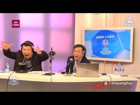 Cabin BLV Quang Huy - Quang Tùng bùng nổ sau bàn thắng của Triệu Việt Hưng | BLV Quang Huy - Thời lượng: 4:35.