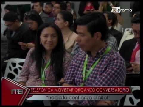 """Telefónica Movistar organizó conversatorio """"hacia la confianza digital"""""""