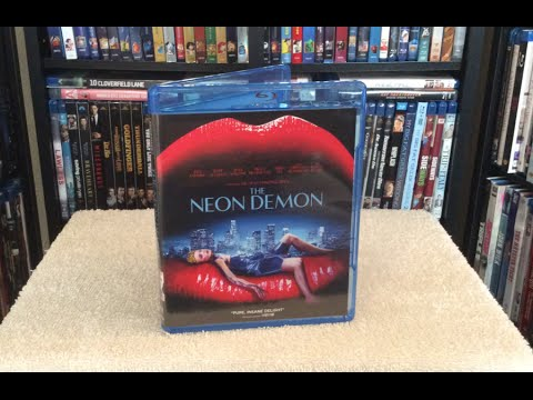 The Neon Demon Blu Ray Unboxing And Review