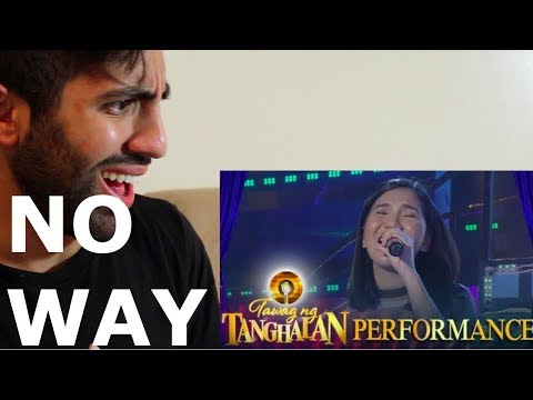 ELAINE DURAN NOW THAT YOU'RE GONE COVER @ TAWAG NG TANGLAHAN (REACTION)