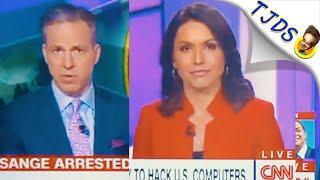Tulsi Defends Assange Powerfully On CNN