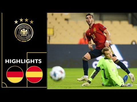 Ferran Torres & Spain too strong for Germany | Spain vs. Germany 6-0 | Highlights | Nations League