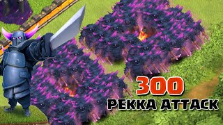 Video Clash of Clans - 300 Pekka Attack (Massive Clash Of Clans Gameplay) MP3, 3GP, MP4, WEBM, AVI, FLV Juli 2017