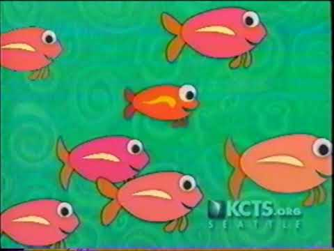 Fish  - Coming up Next  - Caillou  -  PBS  - KCTS 9 Bumper (2002)