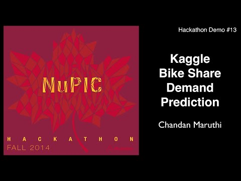 Kaggle Bike Share Demand Prediction