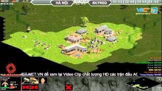 Hà Nội vs Skyred, Ngày 07/10/2015, C2T1, game đế chế, clip aoe, chim sẻ đi nắng, aoe 2015