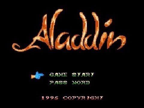 aladdin nes cheat codes