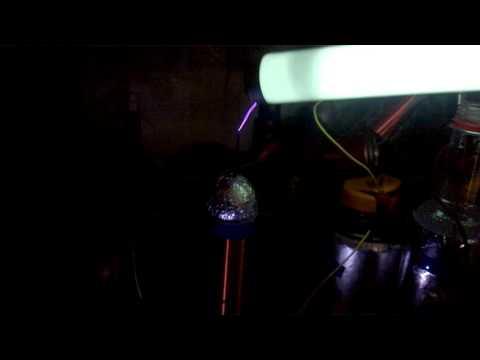 mini tesla coil (видео)