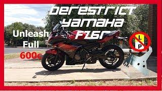 9. How to derestrict Yamaha FZ6R