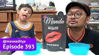 Video Makan Kripik Pedes Sambil Mengarang Kalimat! Repot! MP3, 3GP, MP4, WEBM, AVI, FLV November 2018