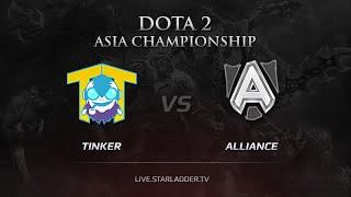Alliance vs TTinker, game 1