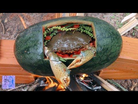 Cua Biển Luộc Trong Trái Dưa Hấu | Sinh Tồn Trong Rừng .Primitive Survival: Crab Cooking Watermelon - Thời lượng: 22:58.