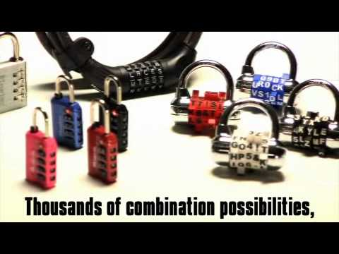 Screen capture of Master Lock 8220D Password Combination Cable Lock