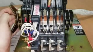 АВР ASCO переключающий механизм (серия 300/4000/7000) часть 2.