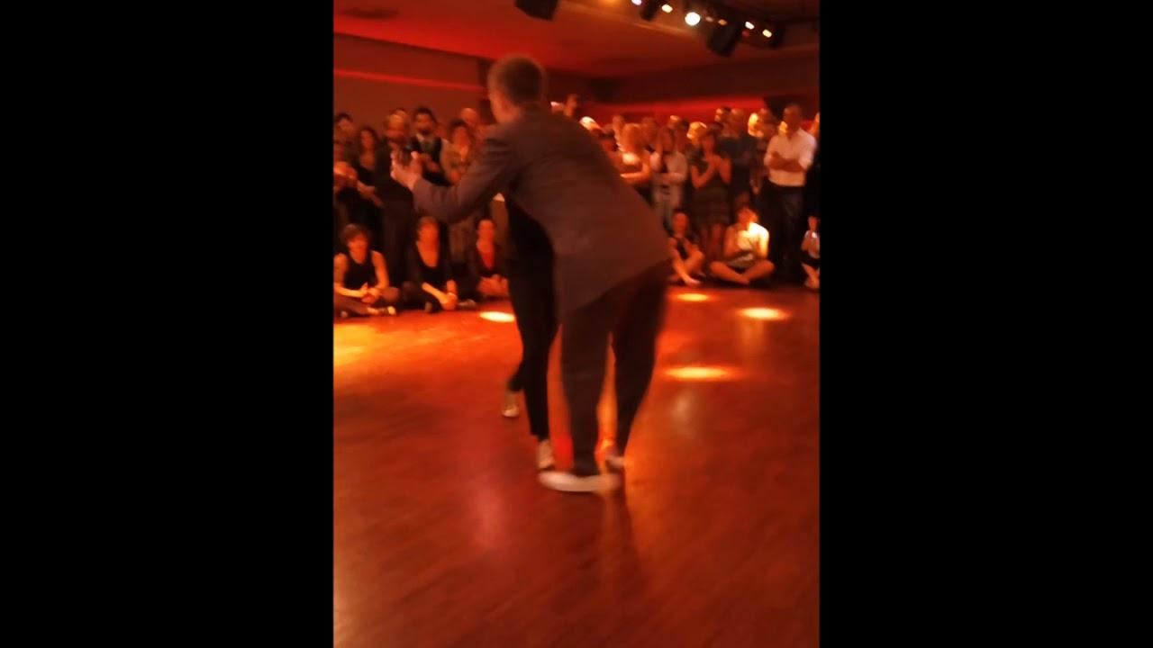 SKYE HUMPHRIES and JOSETTE WIGGAN dance on