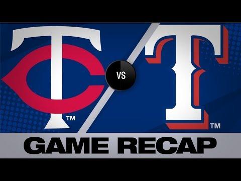 Video: 6-run 1st inning propels Twins past Rangers | Twins-Rangers Game Highlights 8/17/19