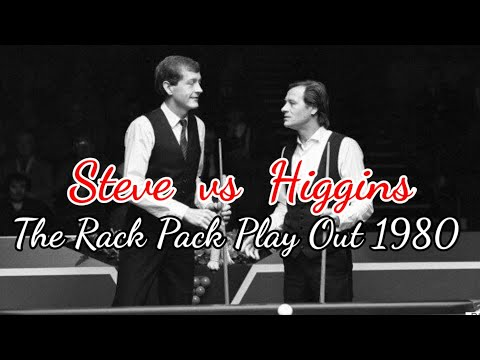 Steve David vs Alex Higgins The Rack Pack Play Outs 1980|Anooker Independent Club