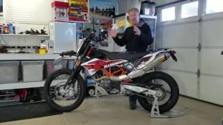 9. KTM 690 Enduro  Review