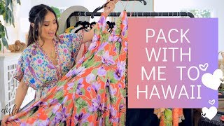 Pack With Me to Hawaii | Tropical Vacation Outfits + Travel Must Haves by Dulce Candy