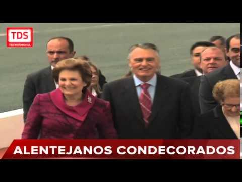 ALENTEJANOS CONDECORADOS NO 10 DE JUNHO