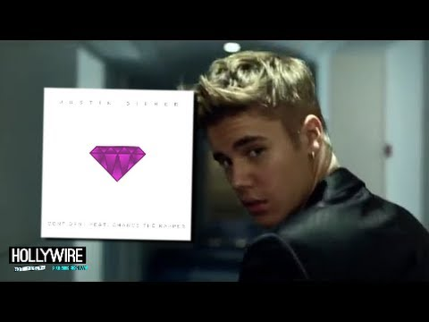 Justin - Justin Bieber Releases New Single 'Confident'! (MUSIC MONDAYS) Subscribe to Hollywire | http://bit.ly/Sub2HotMinute Send Chelsea a Tweet! | http://bit.ly/Twe...