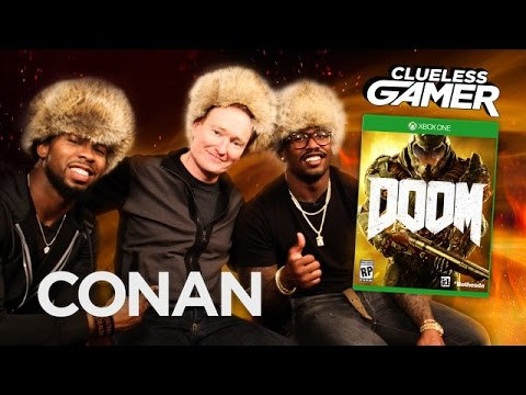 VIDEO: When Conan O'Brien Plays Video Games With NFL Players