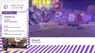 Runner3 gets new gameplay from Twitch's E3 stream. http://nintendoeverything.com