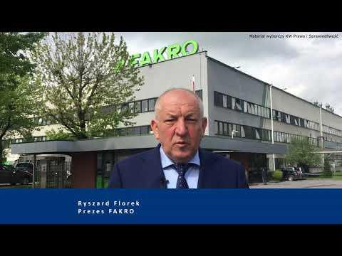 Ryszard Florek – prezes FAKRO poparł Ryszarda Legutkę