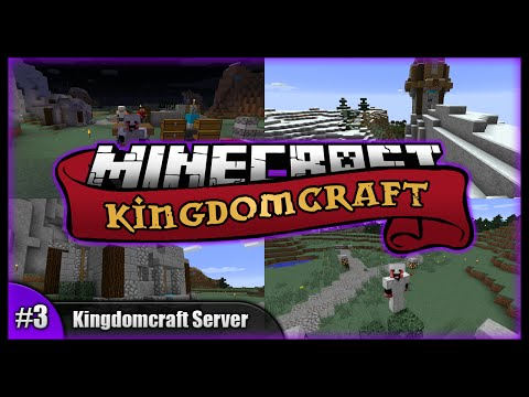 The 'Woof' Kind Of Sauna! || Minecraft Kingdomcraft Server || Minecraft Survival SMP (Vanilla) [#3]