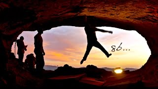 TWO FIRST ASCENTS 8B, BY CHRIS SHARMA,  ERIC LÓPEZ AND POL ROCA IN LA COVA DE L'OCELL by Chris Sharma