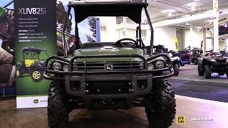 3. 2017 John Deere Gator XUV 825i Utility ATV - Walkaround - 2016 Toronto ATV Show