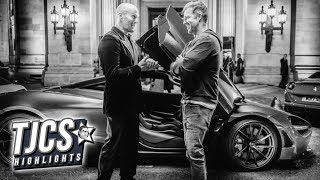 Rock Posts Picture As Hobbs And Shaw Starts Production