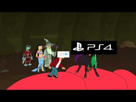 Futurama: XboxOne vs PS4 vs Wii U
