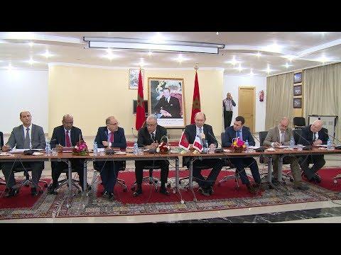 لقاء حول التعاون اللامركزي بين مجلس عمالة الرباط ومدينة مونت لاجولي الفرنسية