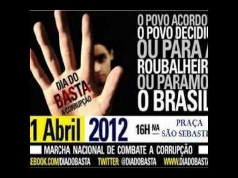Chamada para o Dia do Basta em Três Rios - RJ