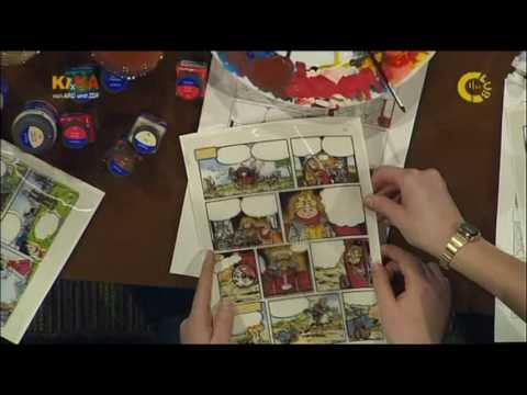 Erst Zeichnung dann Comic – Tipps vom Comiczeichner