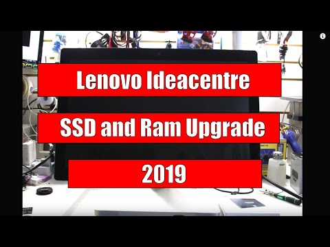 Lenovo Ideacentre Series Ram And SSD Upgrade A520 A530 A720 A730
