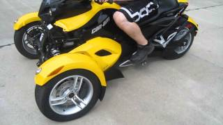 5. 2009 CAN-AM SPYDER RS FOR SALE WWW.RACERSEDGE411.COM
