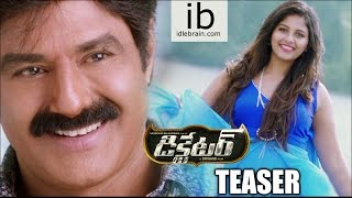 Dictator Telugu Movie Trailer HD, Balakrishna, Anjali