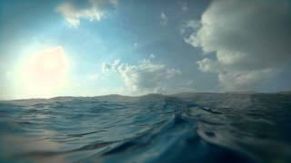 Blender 3D Ocean sim animation 2