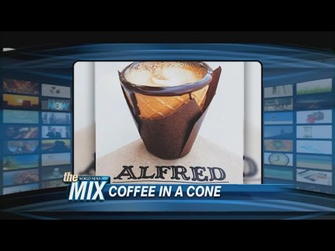 MIX: Coffee in A Cone