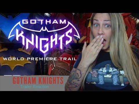 Gotham Knights Game World Premiere Trailer Reaction (DC FanDome)