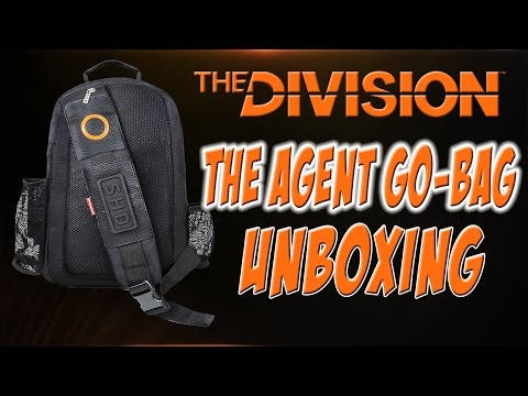 Tom Clancy's The Division Agent Go Bag Unboxing