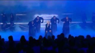 NEW!! Christina Aguilera - Not Myself Tonight live @ Oprah Show.mkv